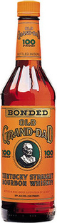 Old Grand-Dad Kentucky Straight Bourbon Whiskey 100 Proof