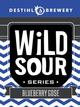 Destihl Brewery Wild Sour Series Blueberry Gose