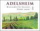 Adelsheim Willamette Valley Pinot Noir 2015