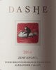 Dashe Cellars Todd Brothers Ranch Old Vines Zinfandel 2014