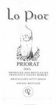 Cesca Vicent Lo Piot Priorat 2012