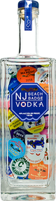 NJ Beach Badge Vodka