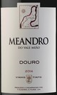 Quinta do Vale Meao Meandro Red 2014