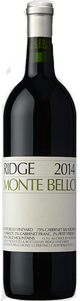 Ridge Vineyards Monte Bello 2014
