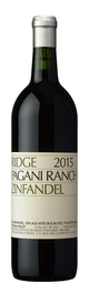 Ridge Vineyards Pagani Ranch Zinfandel 2015