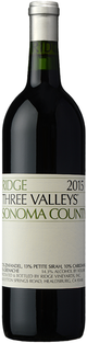 Ridge Vineyards Three Valleys 2015
