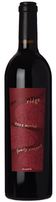 Switchback Ridge Peterson Family Vineyard Merlot 2014