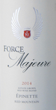 Force Majeure Vineyards Epinette 2014