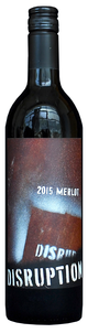 Disruption Wine Company Washington State Merlot 2015