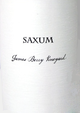 Saxum James Berry Vineyard Proprietary Red 2015