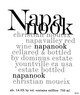 Napanook Red Wine 2015