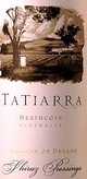 Domaines Tatiarra Caravan of Dreams Pressings Shiraz 2003