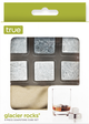 True Fabrications Glacier Rocks 6 Piece Soapstone Cube Set by True
