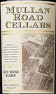 Mullan Road Cellars Red Wine Blend 2015