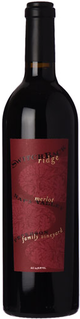 Switchback Ridge Peterson Family Vineyard Merlot 2015