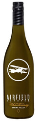 Airfield Estates Unoaked Chardonnay 2015