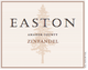 Easton Amador County Zinfandel 2014
