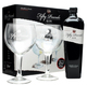 Fifty Pounds London Dry Gin Gift Set with 2 Branded Glasses