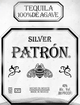 Patron Silver Tequila 1.75 with 2 Patron Mule Mugs