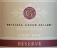 Patricia Green Reserve Pinot Noir 2017