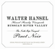 Walter Hansel The North Slope Pinot Noir 2016