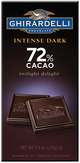 Ghirardelli Intense Dark 72% Cacao Twilight Delight