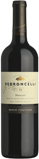 Pedroncelli Bench Vineyards Merlot 2016
