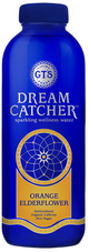 GT's Living Foods Dreamcatcher CBD Infused Sparkling Wellness Water Orange Elderflower