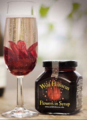 Wild Hibiscus Flowers In Syrup Liquor Depot Edmonton