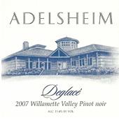Adelsheim Deglacé 2007
