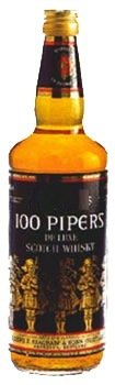 100 Pipers Blended Scotch Whisky