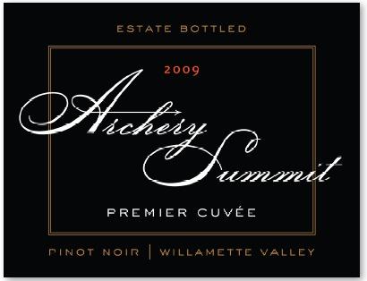 Archery Summit Premier Cuvee Pinot Noir 2009