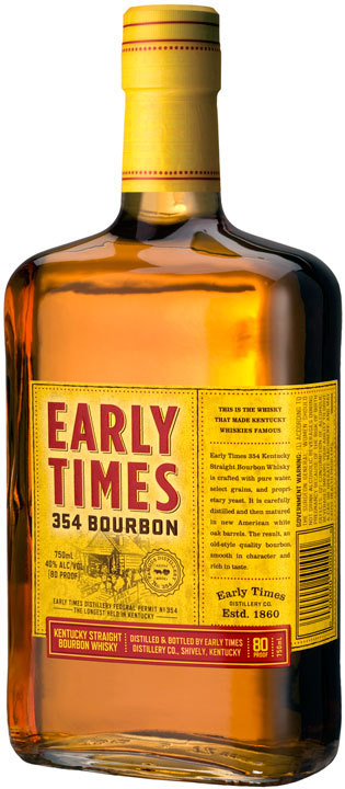 Early Times 354 Bourbon