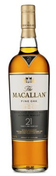 Macallan Fine Oak Single Malt Scotch Whisky 21 year old