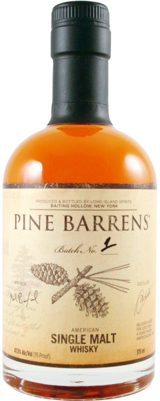Pine Barrens American Single Malt Whisky