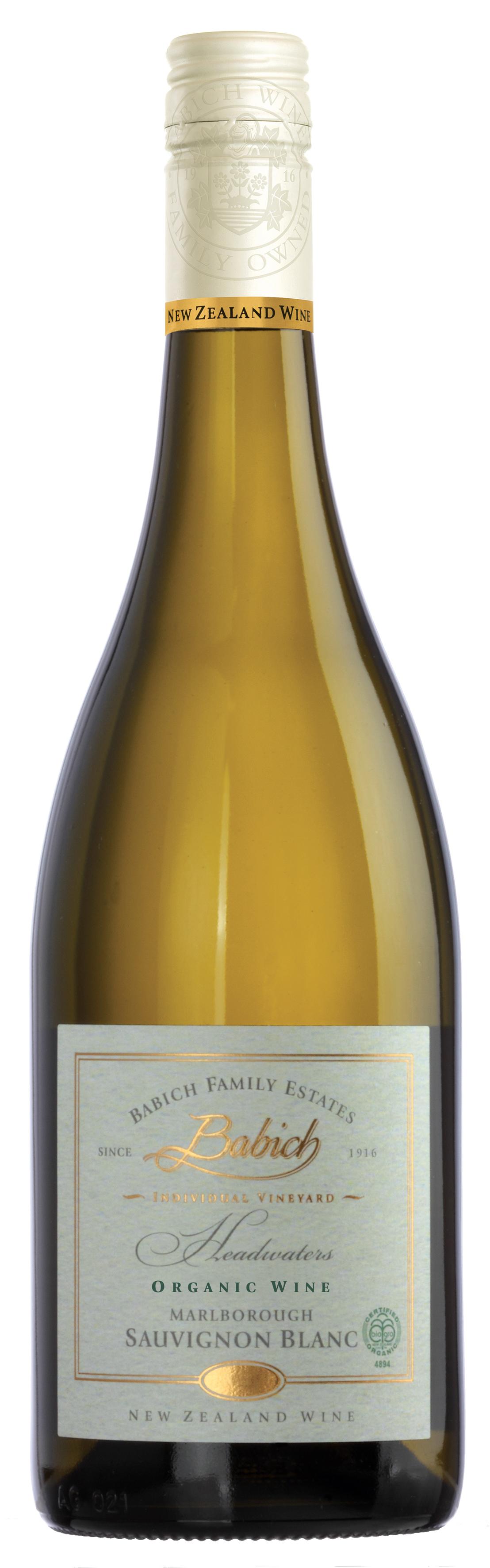Babich Headwaters Organic Block Sauvignon Blanc 2014