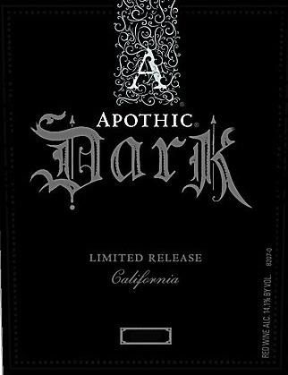 Apothic Dark VNS