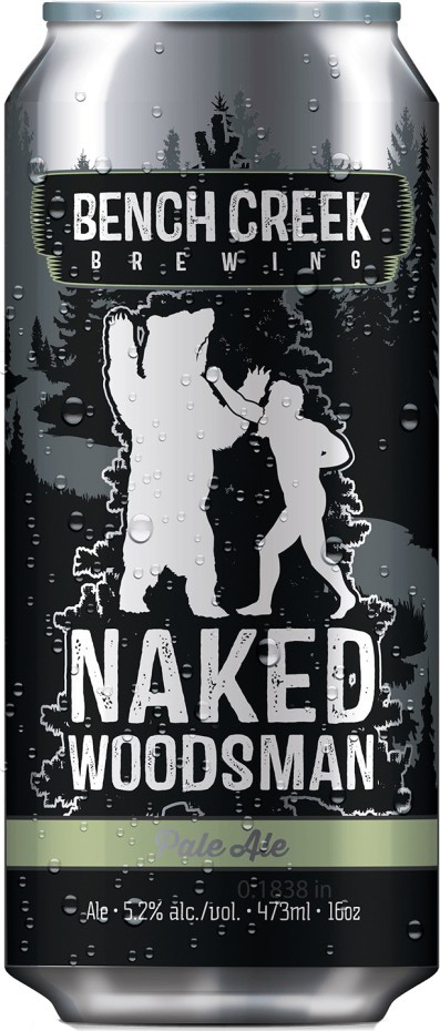 Bench Creek Brewing Naked Woodsman - American Pale Ale at