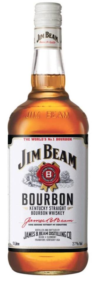 Jim Beam Kentucky Straight Bourbon Whiskey 4 year old
