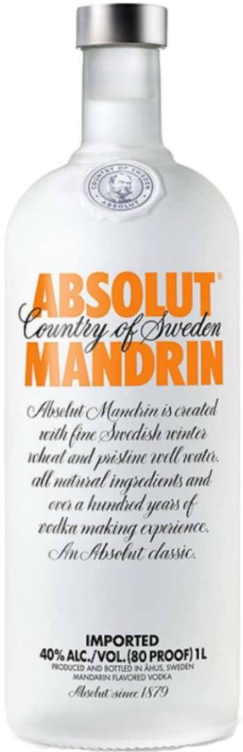 Absolut Mandrin Orange Vodka