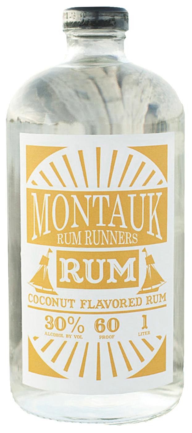 Montauk Rum Runners Coconut Rum