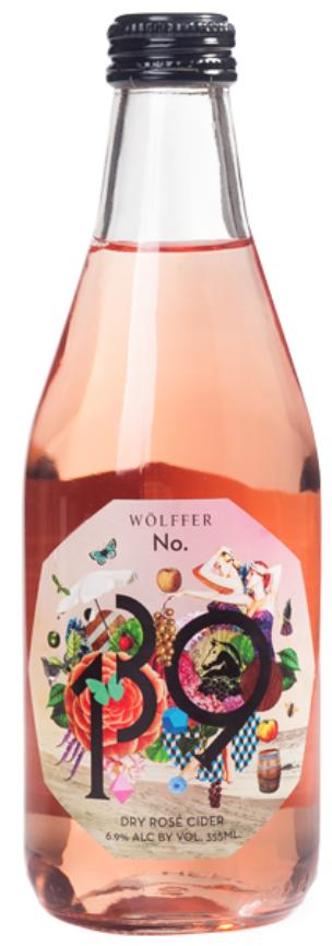 Wolffer No. 139 Dry Rosé Cider
