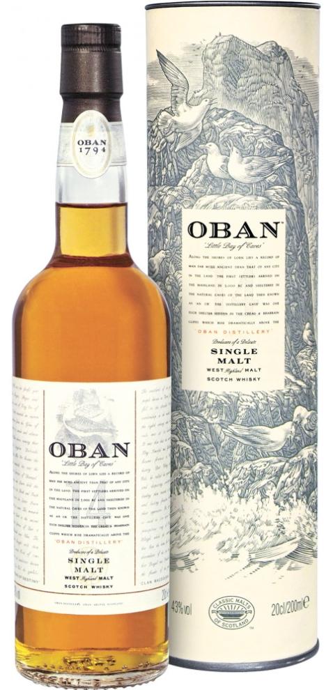 Oban Single Malt Scotch Whisky 14 year old