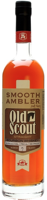 Smooth Ambler Old Scout Straight Bourbon Whiskey 7 year old