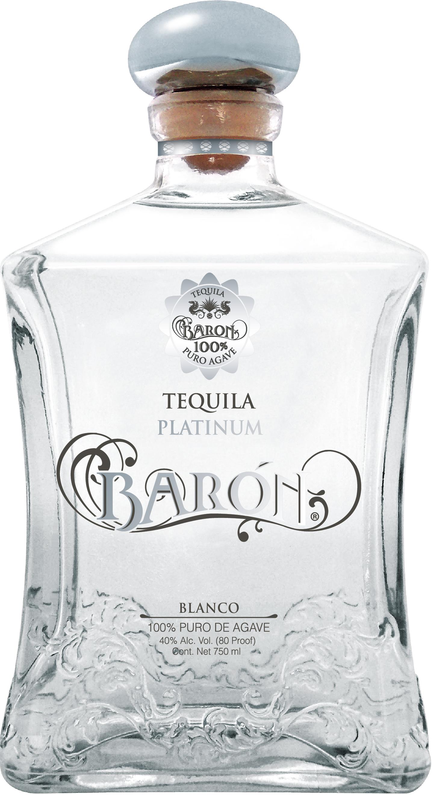 Barón Platinum Blanco Tequila