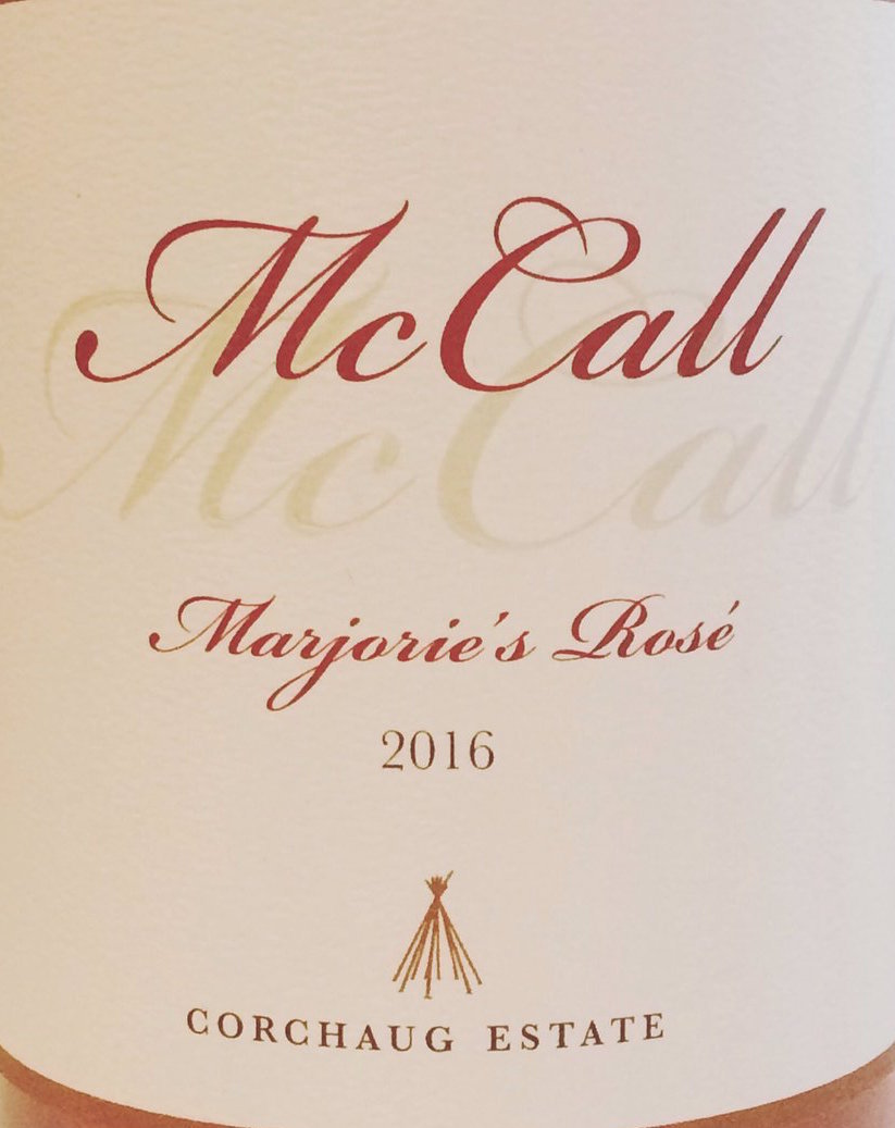 McCall Wines Marjorie's Rose VNS