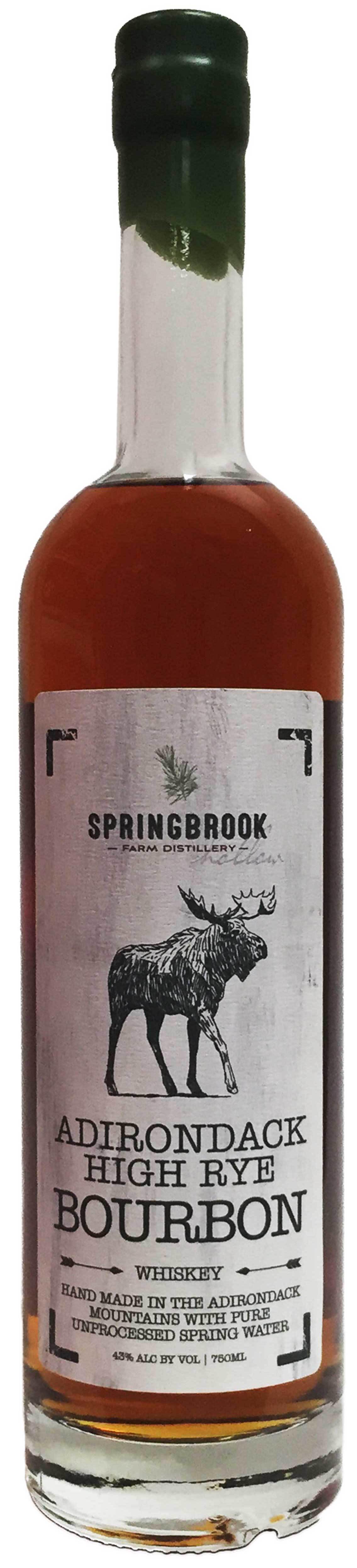 Springbrook Hollow Farm Distillery Adirondack High Rye Bourbon