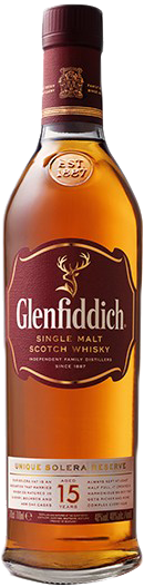 Glenfiddich Single Malt Scotch Whisky 15 year old