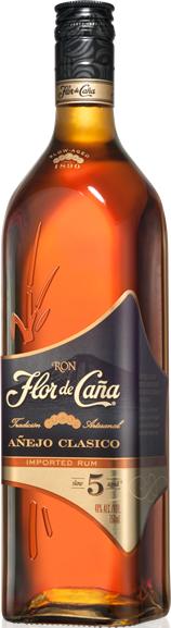 Flor de Cana Añejo Classico Rum 5 year old