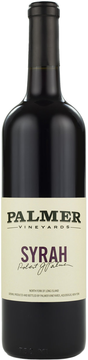 Palmer Vineyards Syrah 2015